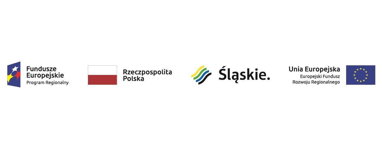Dofinansowanie realizowane ze środków EFRR w ramach Regionalnego Programu Operacyjnego Województwa Śląskiego na lata 2014-2020